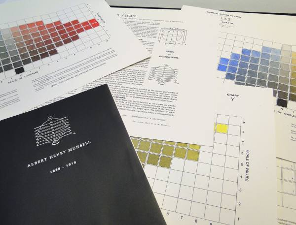 Atlas of The Munsell Color System. Albert Henry Munsell